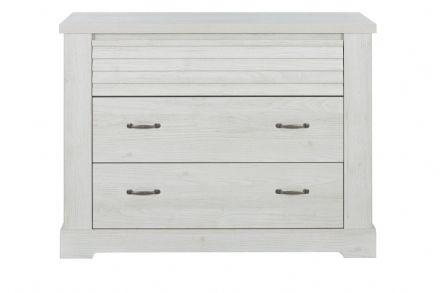 Thelma Chest of Drawers, 3 Drawers White